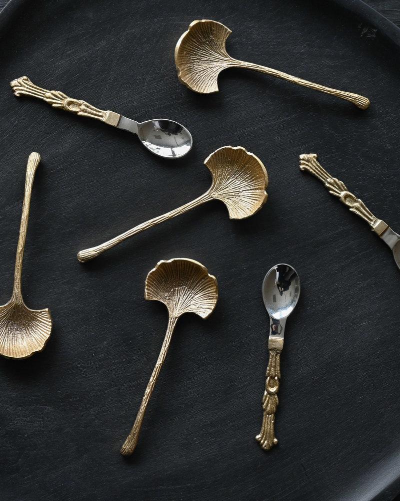 Condiment Spoon Gold