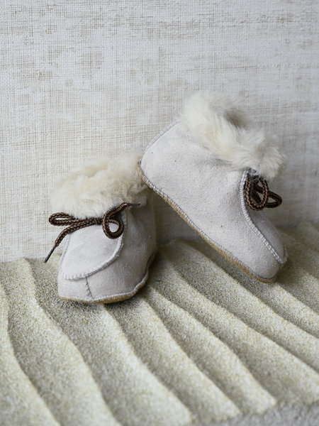 Baby Lammy Boots Light Sand