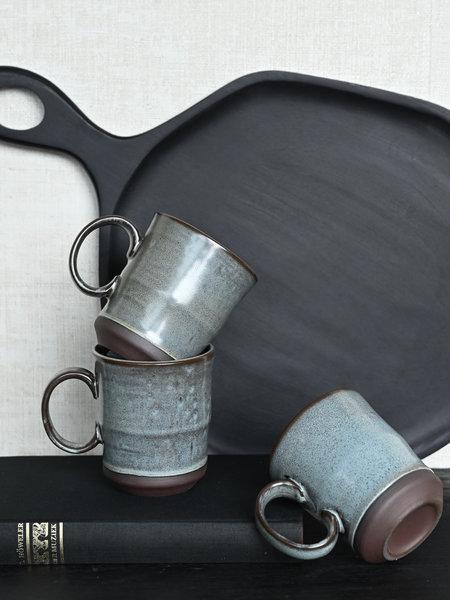 Mug Green Stoneware