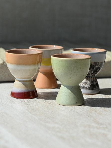 HKliving Egg Cup Ceramic (SET OF 4)