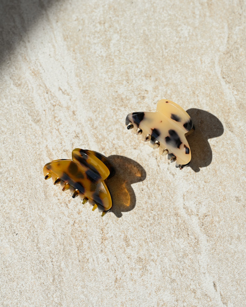 Claw Clip Brown (SET OF 2)