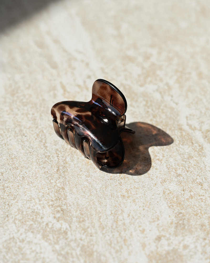 Claw Clip Animal Brown