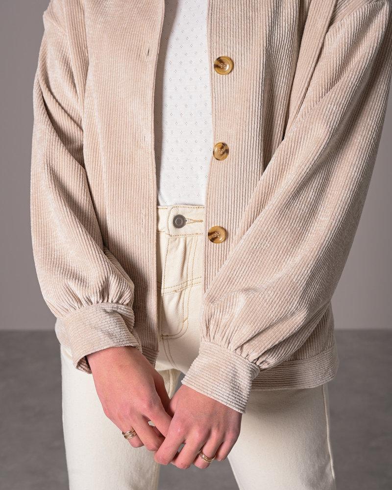 TILTIL Bobby Corduroy Jacket Beige