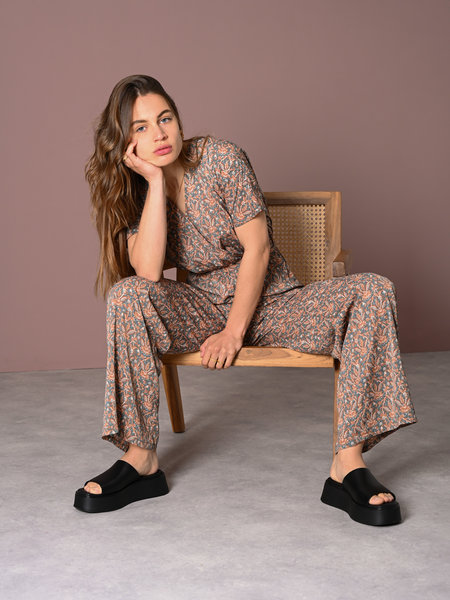 Things I Like Things I Love TILTIL Lucy Jumpsuit Paisley Pastel