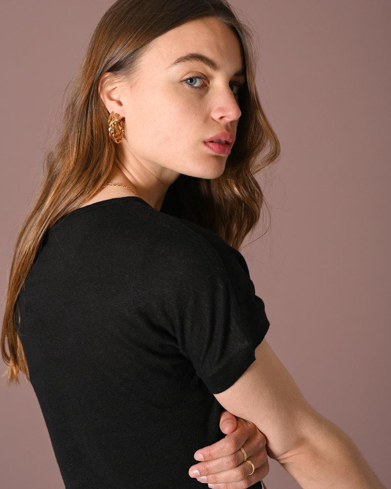 Olena Wera SS Tee Black