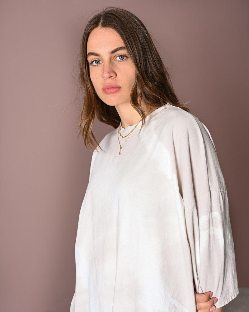 TILTIL Maxime Shirt Dress Batik Beige