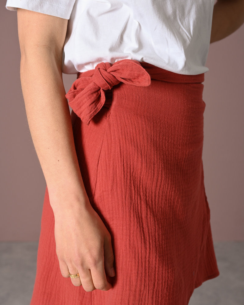 TILTIL Helena Peach Skirt