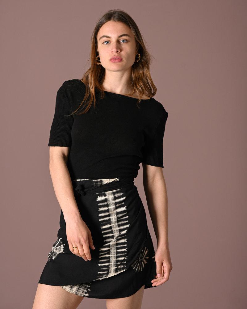 TILTIL Lily Knitted Top Black