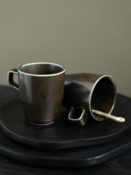 Mug Black Ceres With Ear