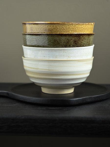 HKliving Japanese Noodle Bowl Kyoto (SET OF 4)