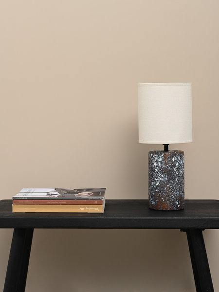 Pomax Table Lamp Groove Ceramic