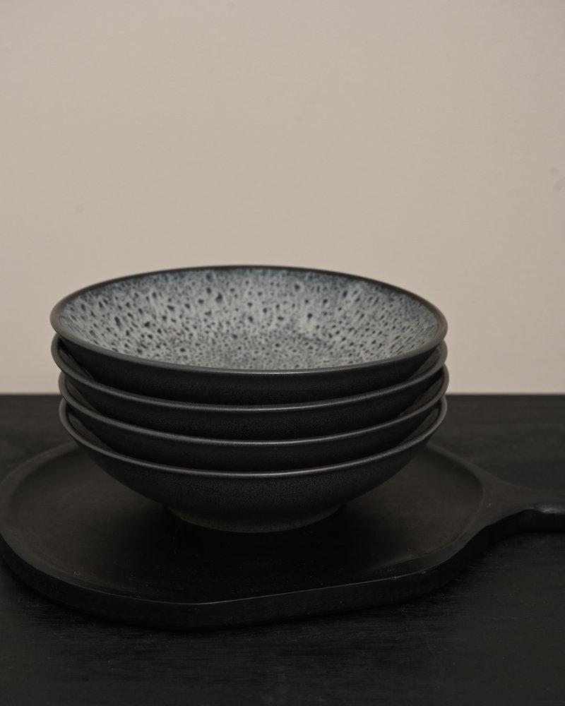 Shallow Bowl Mirha Dark Grey