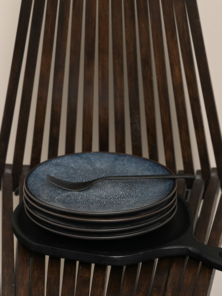 Pomax Mirha Breakfast Plate Blue