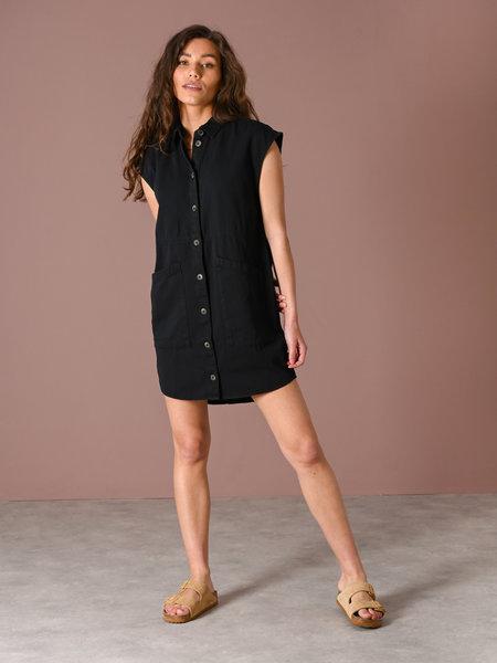 Noisy May Alma Capsleeve Dress Black