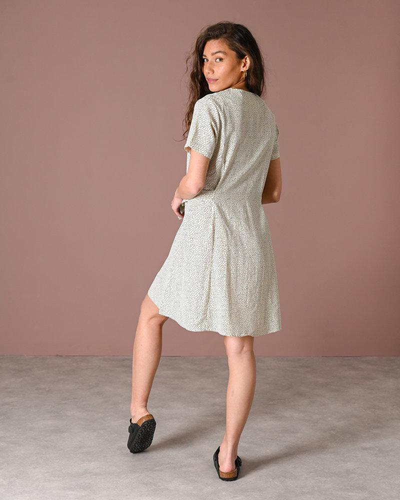 TILTIL Dora Dotted Dress White