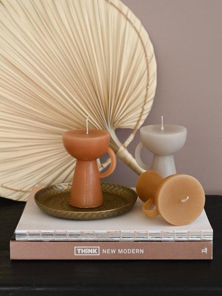 Rustik lys Sculpture Candle Cup