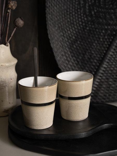 Lavandoux Mug Stripe Sand