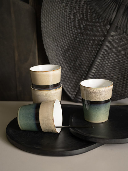 Lavandoux Mug Stripe Green