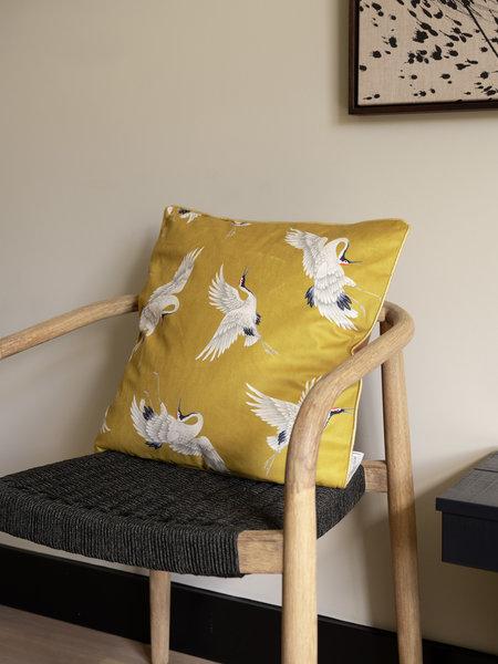Cushion Crane Yellow