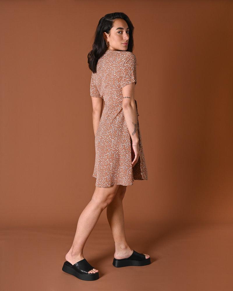 TILTIL Fabienne Dress Orange Dot