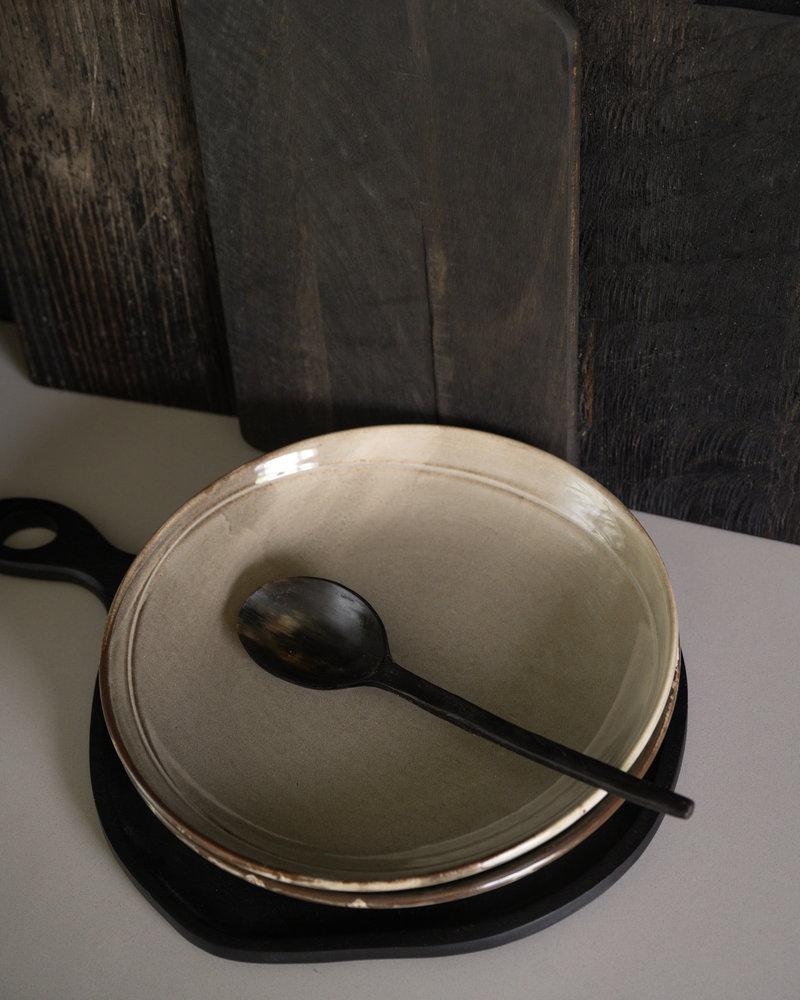 Big Serving Plate Grey Ceres