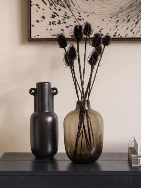 Vase Dakar Brown Glass