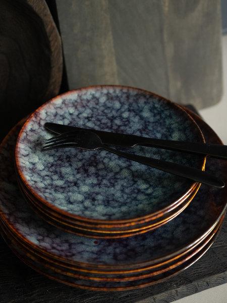 Breakfast Plate Hazy Blue