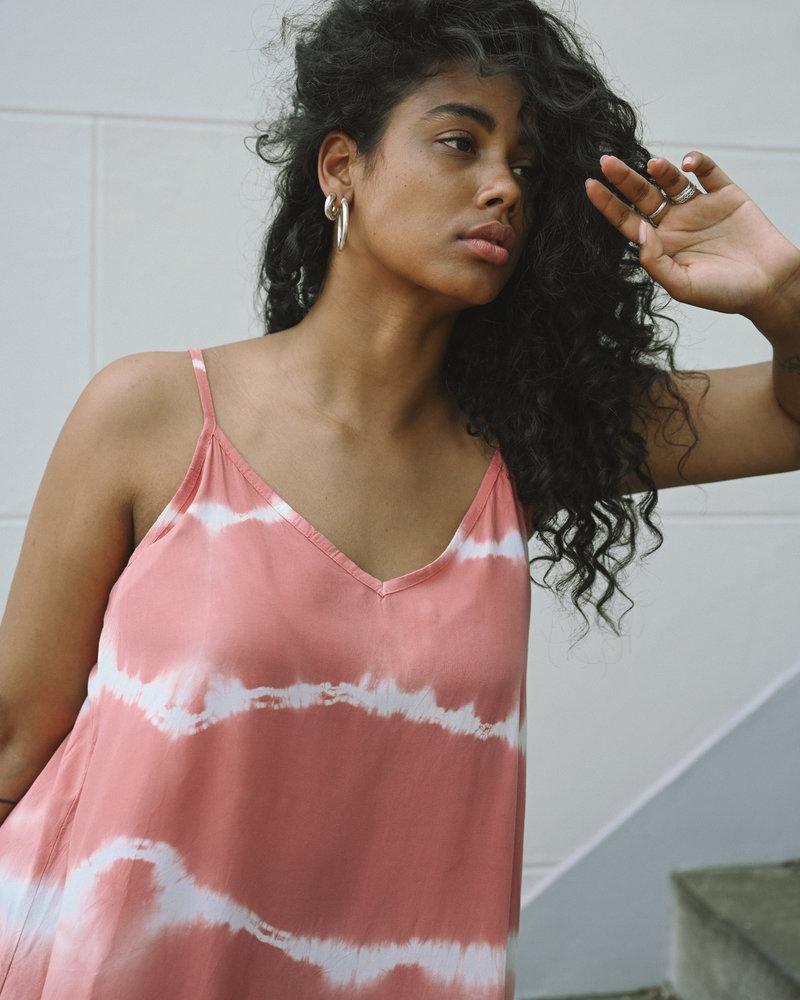 TILTIL Lizzie Batik Dress Coral