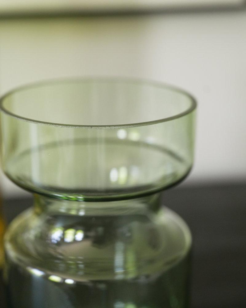 Vase Green Glass