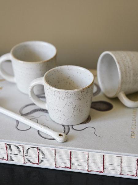 House Doctor Espresso Mug Pion Grey/White