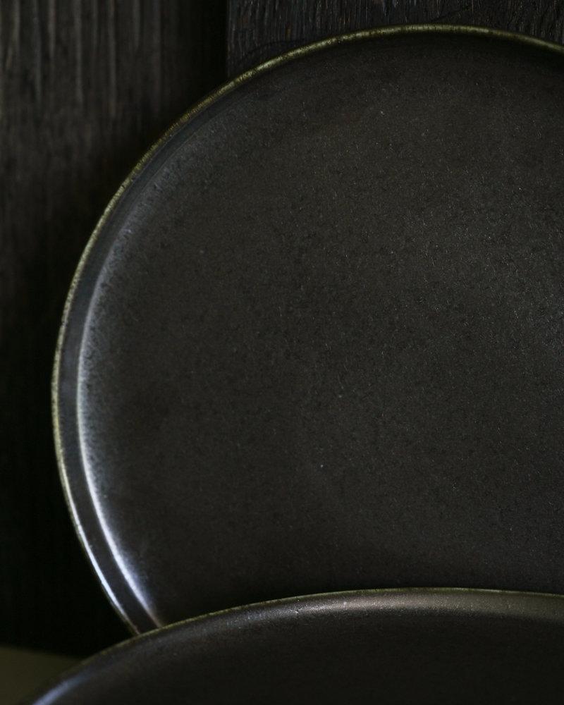 Dinner Plate Black Ceres