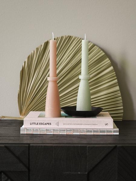 Rustik lys Sculpture Candle Pillar