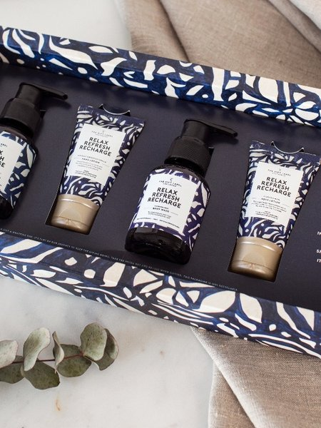 The Giftlabel Luxurious Gift Set - Relax, refresh, recharge