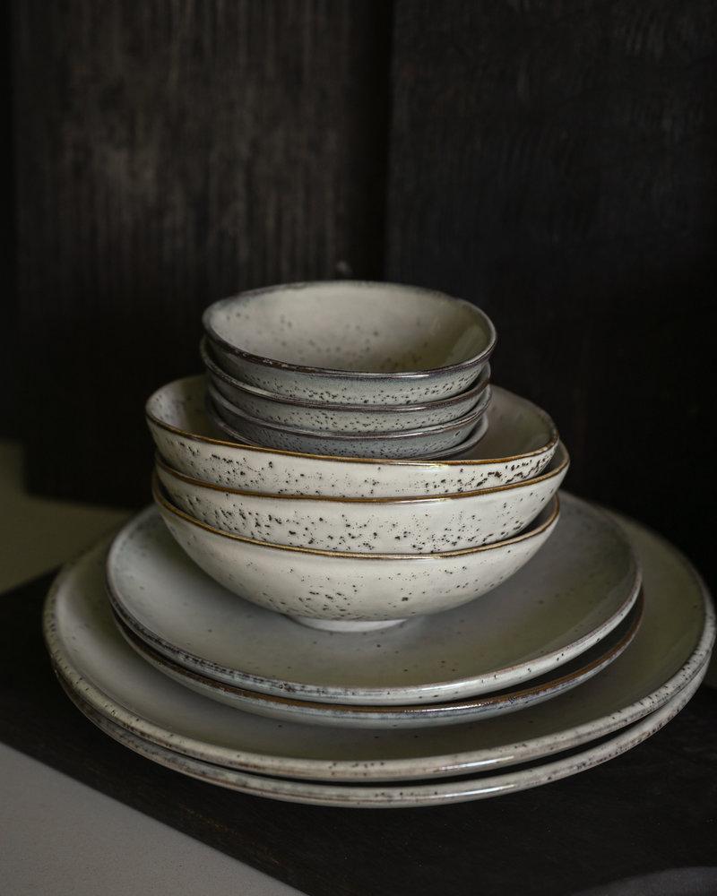 Breakfast Plate Lake Grey