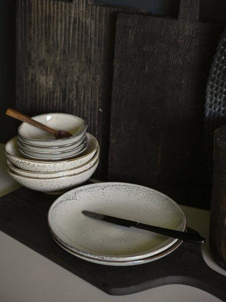 House Doctor Breakfast Plate Lake Grey