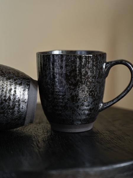 Madam Stoltz Mug Black Stoneware