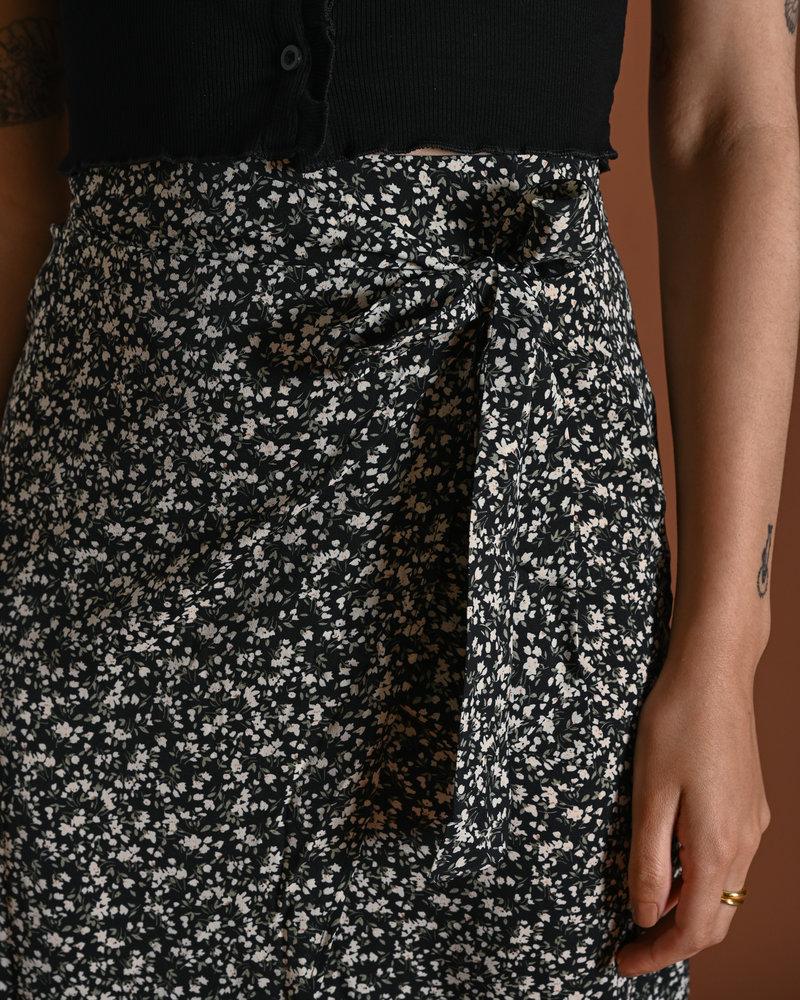 TILTIL Nene Skirt Black Mini Flower