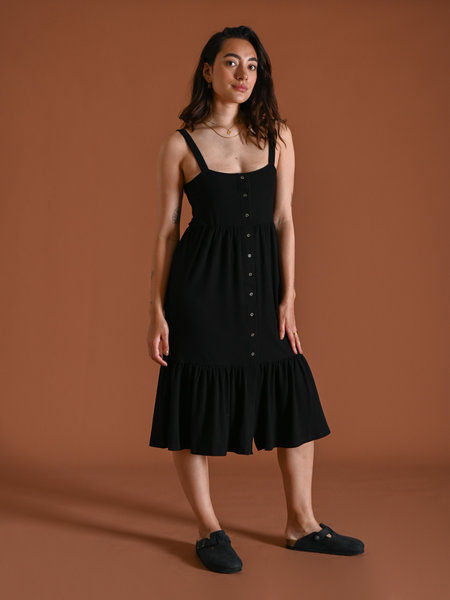 Noisy May Moxi Long Dress Black