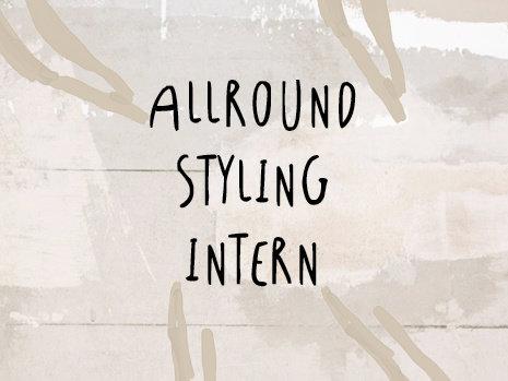 Allround Styling Intern