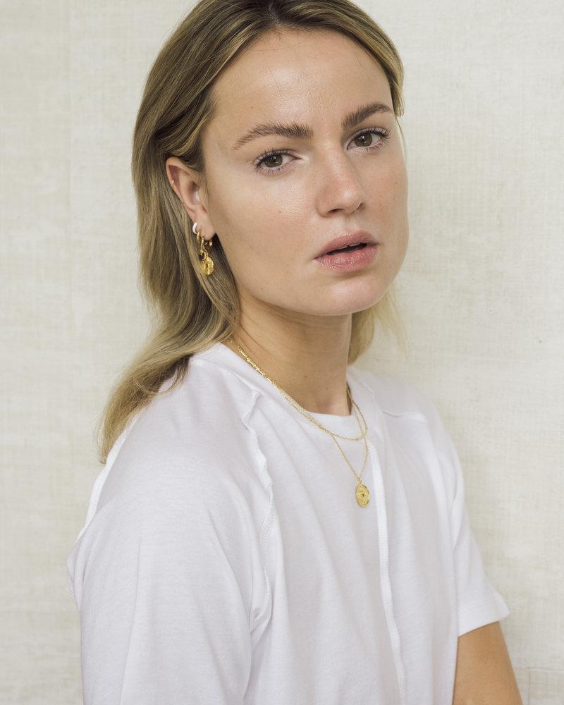 Bloom Earring White Gold