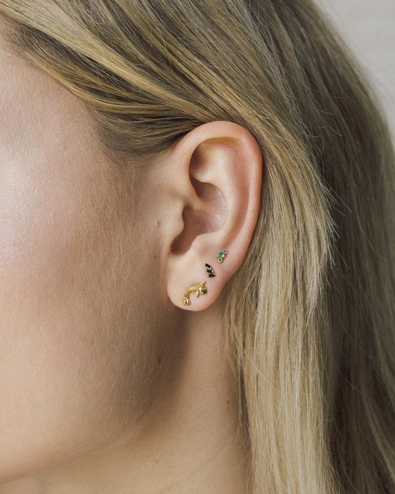 Parade Earring Koi Carp Gold