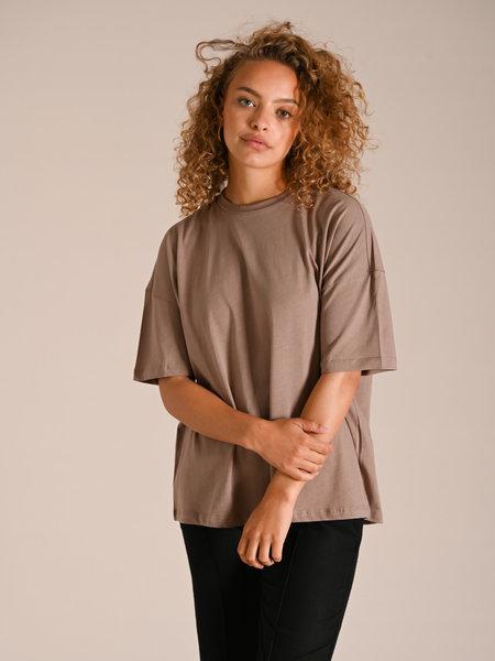Noisy May Marta Oversized T-Shirt Taupe