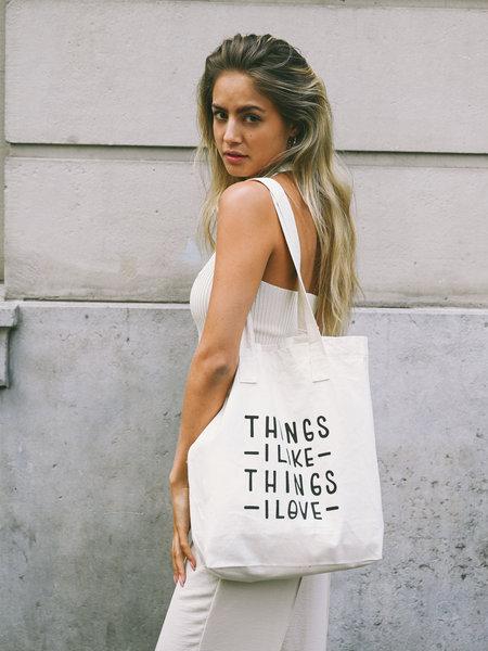 Things I Like Things I Love TILTIL Summer Cotton Bag