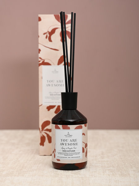 The Giftlabel Reed Diffuser You Are Awesome