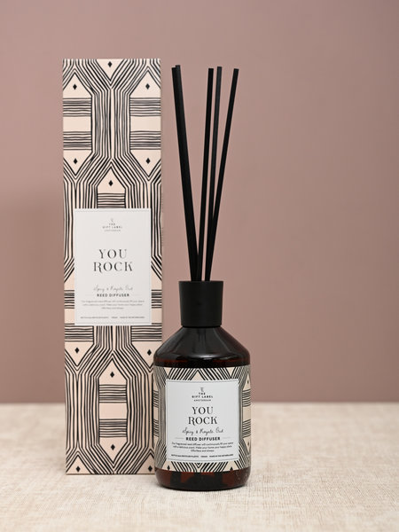 The Giftlabel Reed Diffuser You Rock