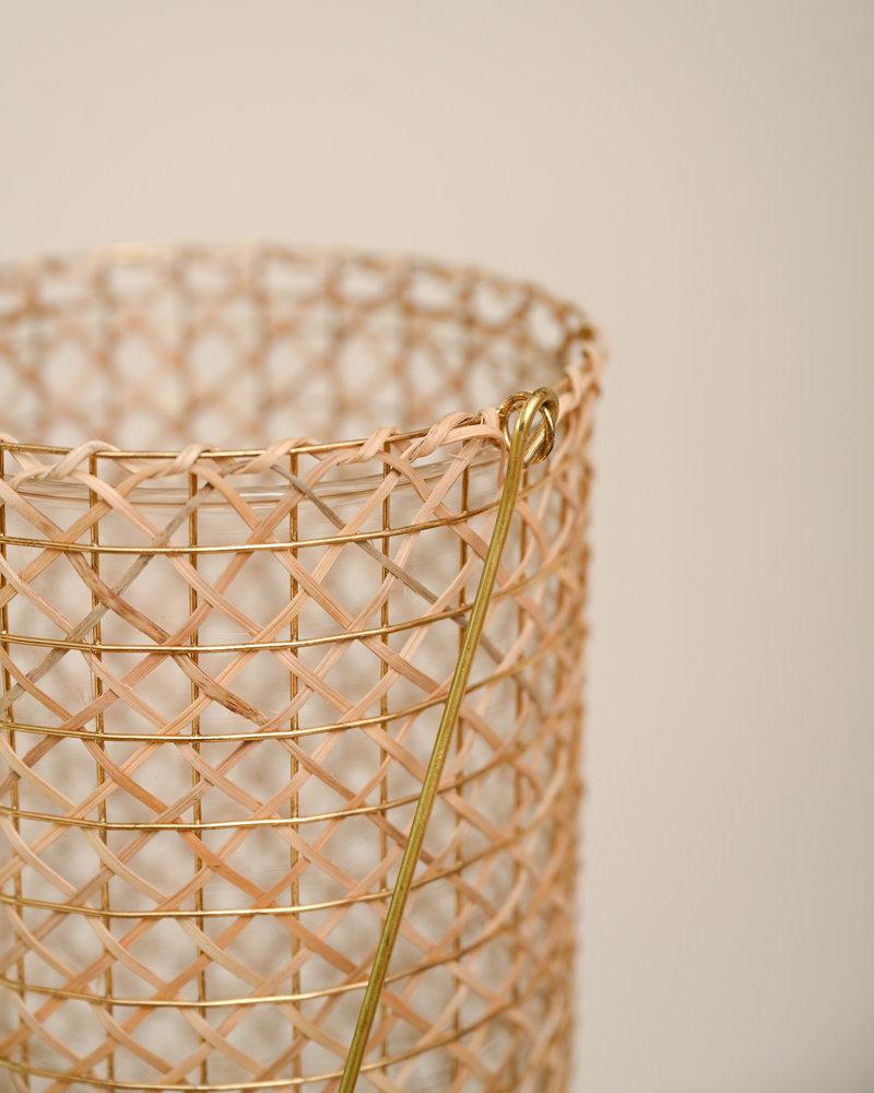 Lantern Osani Bamboo Natural