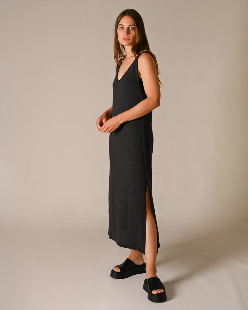 Katy Knitted Dress Grey