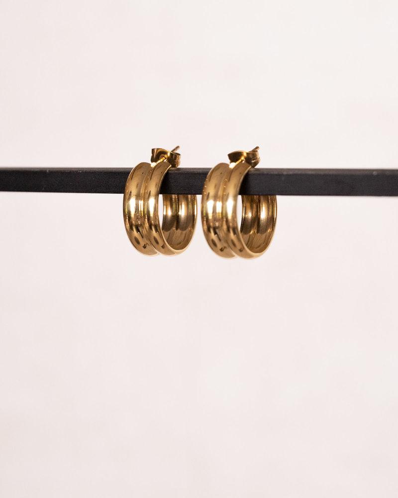 Nova Hoop Gold