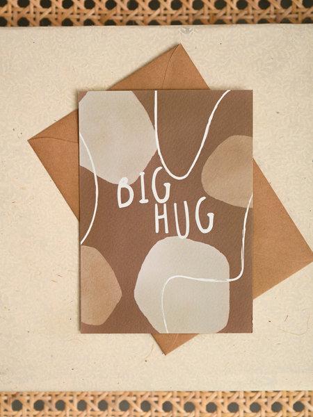 Things I Like Things I Love TILTIL Big Hug Postcard