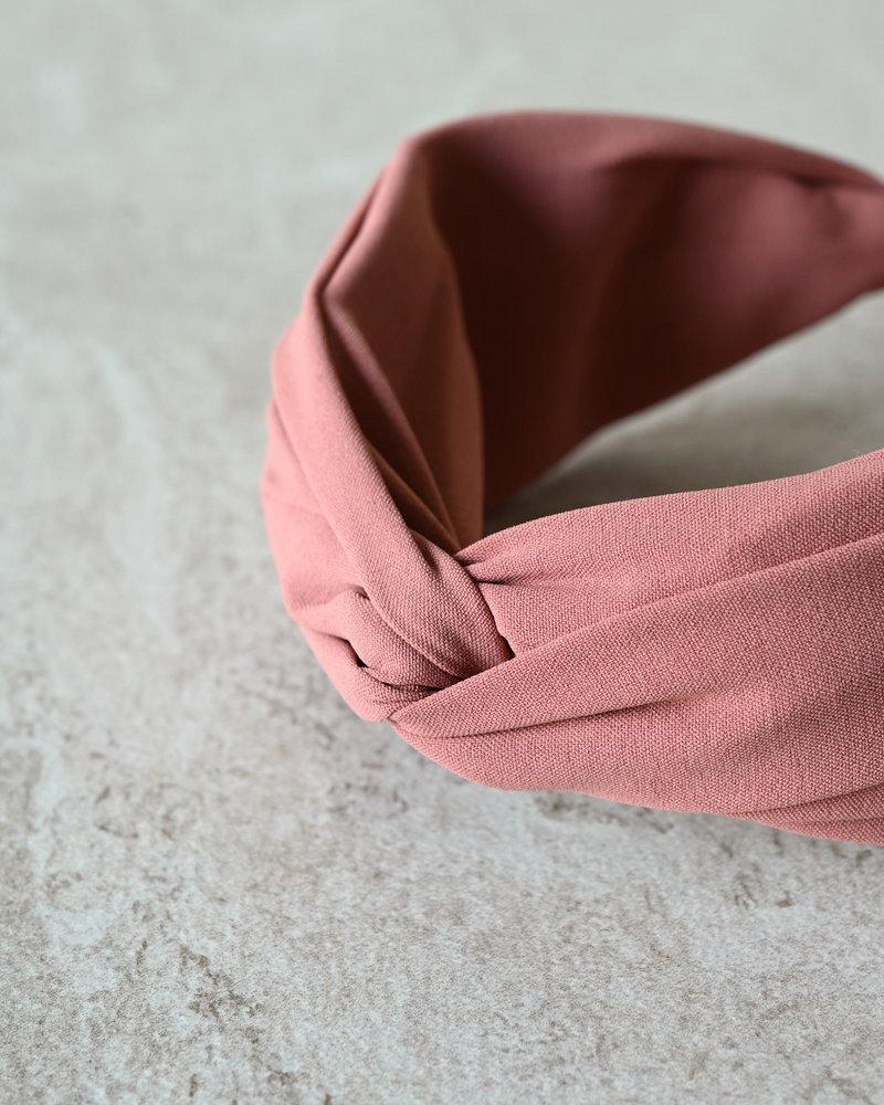 BK Oslo Solid Matt Headband Coral